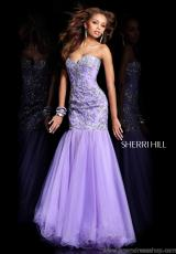 2013 Sherri Hill Mermaid Prom Dress 2974