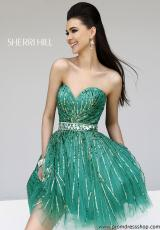 2013 Sherri Hill Short Prom Dress 8522