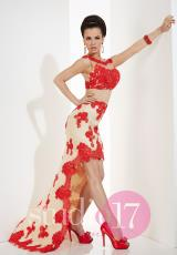 Studio 17 12483.  Available in Black/Nude, Red/Nude