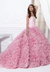 Tiffany Quinceanera 26702.  Available in Fuchsia, Ivory, Rose, White