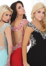 Tony Bowls Evenings TBE11404.  Available in Aqua, Black, Pink, Red