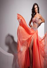 Tony Bowls Le Gala 113502.  Available in Hot Pink, Orange, Peacock