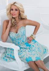 Tony Bowls Shorts TS11480.  Available in Turquoise/Gold