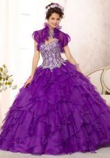 2014 Vizcaya Quinceanera Beaded Top Dress 88092