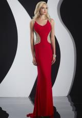 Jasz Couture 4985.  Available in Black, Red, White