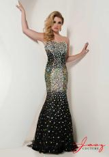 Jasz Couture 4873.  Available in Black