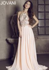 Jovani 92605.  Available in Blush, Charcoal