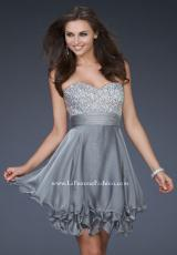 2014 Strapless Short La Femme Dress 16541