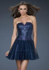 Short 2013 La Femme Prom Dress 18124