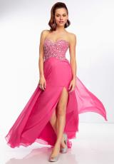 Mori Lee 95047.  Available in Aqua, Champagne, Party Pink, Shimmer Green