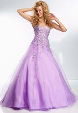 Mori Lee 95097.  Available in Coral, Lilac, Mint