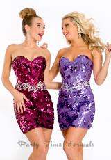 Party Time Dresses 6404.  Available in Lilac, Merlot