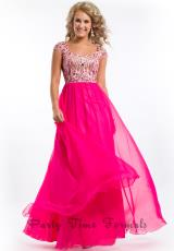 Party Time Formals 6423.  Available in Aqua Marine, Blush, Fuchsia