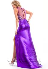 Party Time Dresses 6427.  Available in Gunmetal, Purple, Teal