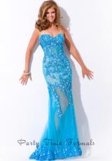Party Time Dresses 6433.  Available in Coral, Turquoise