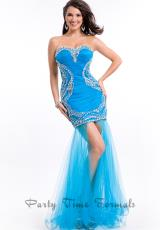 Party Time Dresses 6453.  Available in Nude, Turquoise, Watermelon