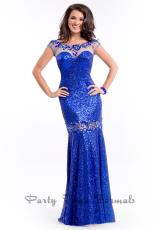 Party Time Dresses 6543.  Available in Gunmetal, Red, Royal