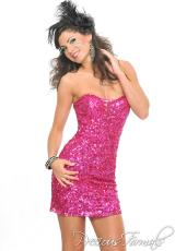 Precious Formals P8879.  Available in Fuchsia