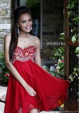 Sherri Hill Short Dress 3880