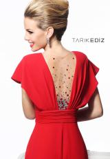 Tarik Ediz 92147.  Available in Black, Red, Sax