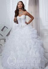 Tiffany Quinceanera 26727.  Available in Coral, Violet, White