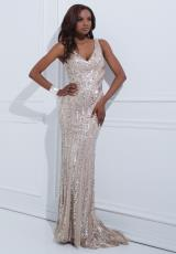 Tony Bowls Evenings TBE11453.  Available in Nude
