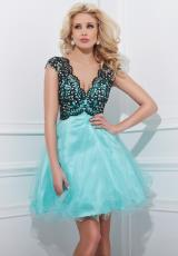 Tony Bowls Shorts TS11465.  Available in Black/Aqua, Black/White, Pink/Black