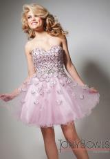 2013 Tony Bowls Short Sweetheart Dress TS21328