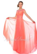 Precious Formals L70118.  Available in Pink Coral, Royal