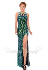 Precious Formals P9120.  Available in Crystal Black, Crystal Emerald, Crystal Royal Blue