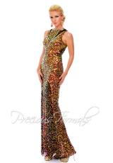 Precious Formals P9121.  Available in Crystal Amber, Crystal Black, Crystal Midnight Blue