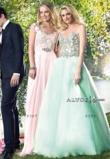 Alyce 6365.  Available in Champagne, Mint, Navy, Watermelon