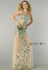 Alyce 6366.  Available in Nude/Water
