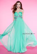 Alyce 6419.  Available in Mint Leaf, Pearl