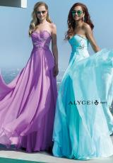 Alyce 6426.  Available in Coral, Diamond White, Radiant Orchid, Royal, Seabreeze, Yellow
