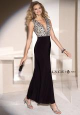 Alyce 5684.  Available in Black/Nude