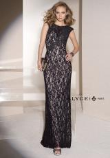 Alyce 5690.  Available in Black, Water