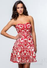 Terani 151P0003.  Available in Red/Nude