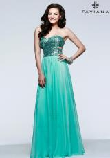 Faviana 7368.  Available in Ice Pink, Royal, Sea Turq, Seafoam