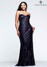 Faviana 9356.  Available in Gold/Black, Purple/Black