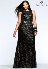 Faviana 9357.  Available in Gold/Black, Purple/Black