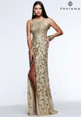 Faviana S7597.  Available in Gold