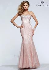 Faviana S7603.  Available in Vintage Blush