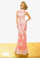Jovani CB92874.  Available in Pink/White