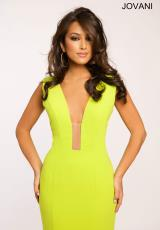 Jovani JP22764.  Available in Black, Lime, Red