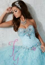 Tiffany Quinceanera 56262.  Available in Purple, Sky Blue, White