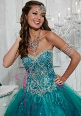 Tiffany Quinceanera 56264.  Available in Lilac, Teal, White