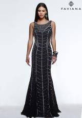 Faviana S7568.  Available in Black/Silver
