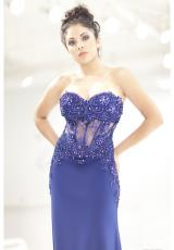 Jasz Couture 5498.  Available in Royal, Turq