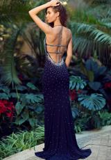 Jovani 90640.  Available in Black, Blush, Navy, Red, Royal/Royal, Turquoise